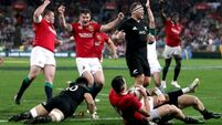 The Match in 60 seconds: Here's how the Lions levelled the series with the All Blacks