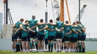 Jet lag and humidity make preparations difficult for Irish rugby squad that shows six changes