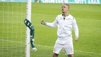 UEFA open disciplinary proceedings against Celtic's Leigh Griffiths after Linfield game