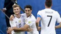 Germany win Confederations Cup for first time after Chile waste host of chances