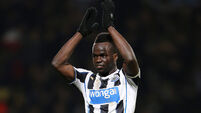 Papiss Cisse pays tribute to Cheick Tiote at memorial service