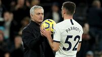 Jose Mourinho: Troy Parrott 'not ready at all'