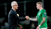 'Good healer' James McClean undergoing intensive rehab work in Dubai