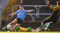 Still unbeaten but Dubs pegged back by late Donegal free