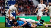 Conor O'Shea's ruck tactics for Italy confuse the English who eventually come out winners