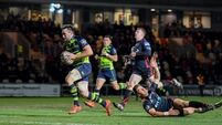 Leinster go top with big win over Dragons