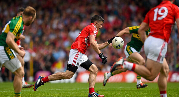 Could Barry O'Driscoll cancel out the threat of Kerry's Stephen O'Brien? Pic: Sportsfile.