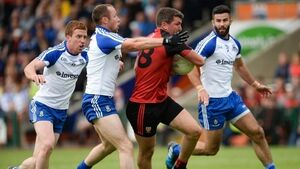 Down throw off despair of past two years to earn stunning win over Monaghan