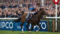 Churchill's finest hour gives Aidan O'Brien record Guineas triumph