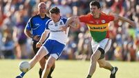 Monaghan's five point victory ends Carlow's reign