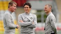 Keith Andrews refuses to rule out stepping up with Stephen Kenny