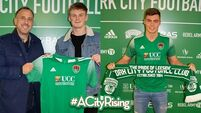 Cork City sign defenders Slevin and Fleming