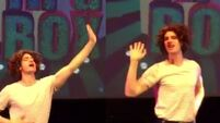 Andrew Garfield dressed in drag and lip syncing  to Whitney Houston is all you need to see today