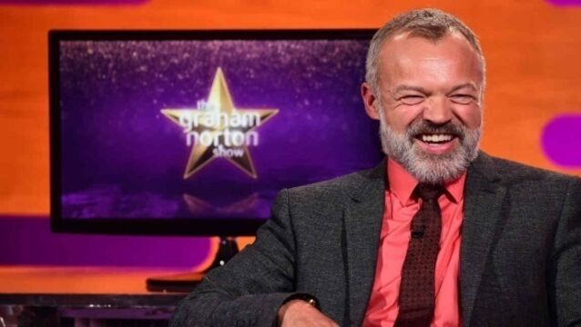 Look who's on The Graham Norton Show tonight
