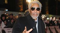 Morgan Freeman spotted in Belfast while filming documentary