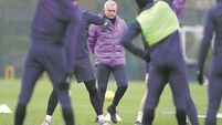 Jose Mourinho at pains to strike the right note