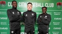 Cork City make hat-trick of signings from English clubs