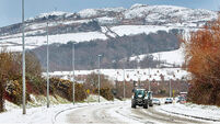 Latest: Drivers warned of 'treacherous' roads as snow melts