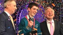 Cork teen scoops top prize at this year's BT Young Scientist Exhibition