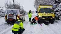 Volunteers abandon jeep, make it on foot to help woman in labour in Kinsale