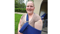 Mum can't get disability grant because she's only lost one arm to cancer