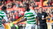 Celtic make it a hat-trick of wins with crushing victory at Aberdeen