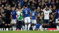 Coleman praised for consoling Son after teammate's horror injury