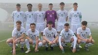 Cork City's Harry Nevin scores the winner on Ireland U16 debut