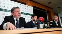 Tough days ahead, warns FAI president Donal Conway