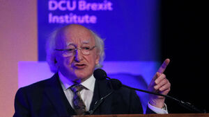 Michael D Higgins tells Brexit conference: 'Europe must not face future divided