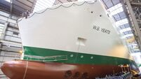 Luxurious W.B. Yeats ferry launched in Germany