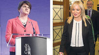 Sinn Féin and DUP want powersharing back but sticking points remain
