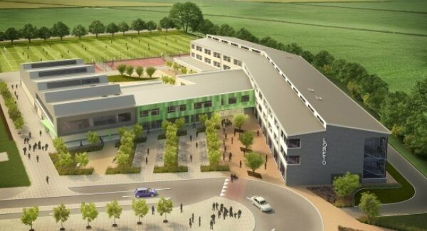 The building plan for Loreto College, Wexford.