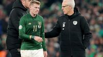 Mick McCarthy: We can qualify for Euros with repeat of Danish display
