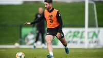 Sean Maguire back and fully focused after 'freak' eye injury