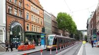 Watch the Luas being tested ahead of traffic restrictions in Dublin city centre