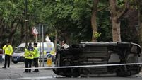 Two fight for lives after Dublin crash; gardaí appeal for witnesses