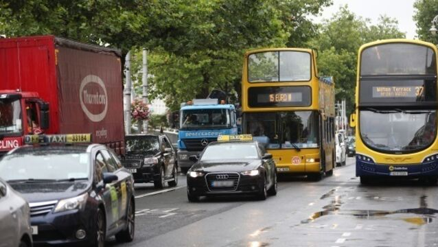 Bus trip times drop by 40% after traffic limits brought into centre of Dublin