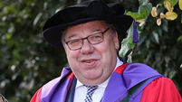Brian Cowen receives honorary degree