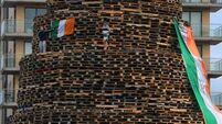 Belfast city council approves removal of bonfire material from some sites