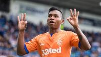 Morelos fires Rangers to victory over Porto in Europa League