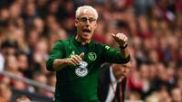 Changing of the guard in Ireland squad with Parrott in and Long out for Denmark clash