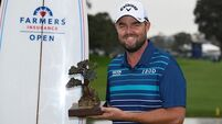 Rory McIlroy third at Torrey Pines as Marc Leishman surges to victory