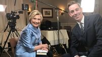 Watch Hillary Clinton tell Ryan Tubridy why she is 'worried' about the stalemate in the North