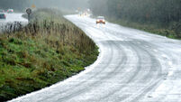 Motorists warned to watch out for icy conditions as country set for 'polar low'