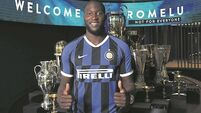 Serie A: Lukaku brace helps Inter Milan edge past Sassuolo in seven-goal thriller