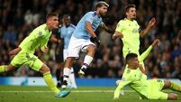 Man City's Sergio Aguero unhurt after minor car crash