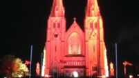 Here is why churches are being lit up in red today