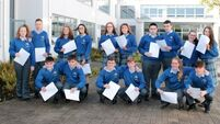 Eight pairs of twins pick up Junior Cert results in Limerick school