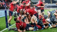 Unrelenting  Munster make every second count